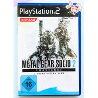 Metal Gear Solid 2 PS2