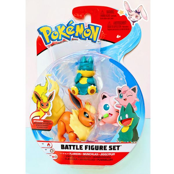 Pokemon Flamara 3er Pack