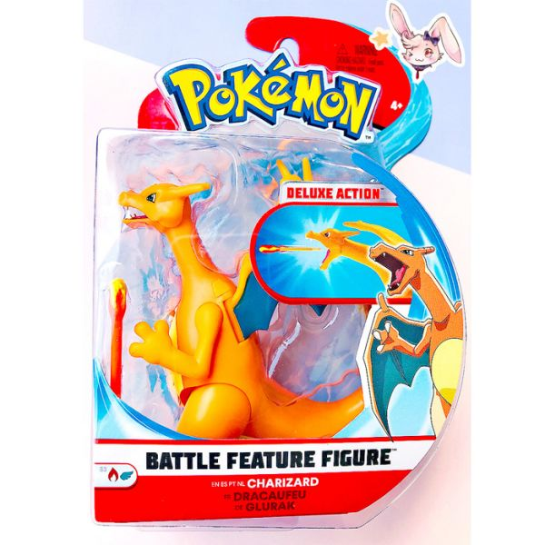 Pokemon Battle Features Figur Glurak