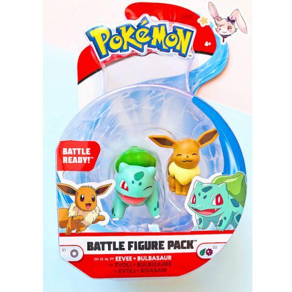 Pokemon WCT Bisasam & Evoli