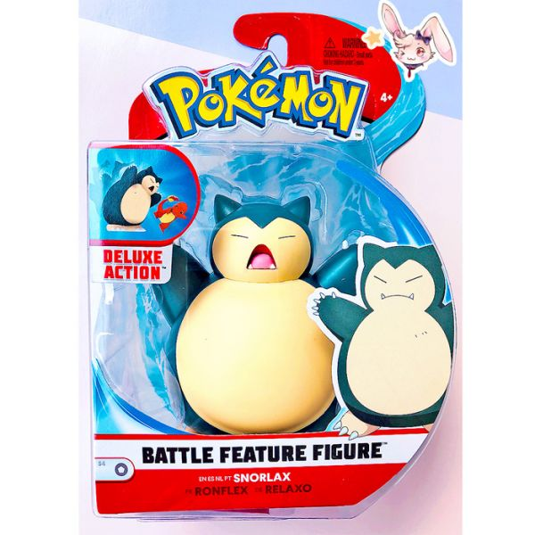 Pokemon Battle Features Figur Relaxo