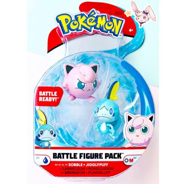 Pokemon Battle Mini-Figuren Set Pummeluff & Memmeon