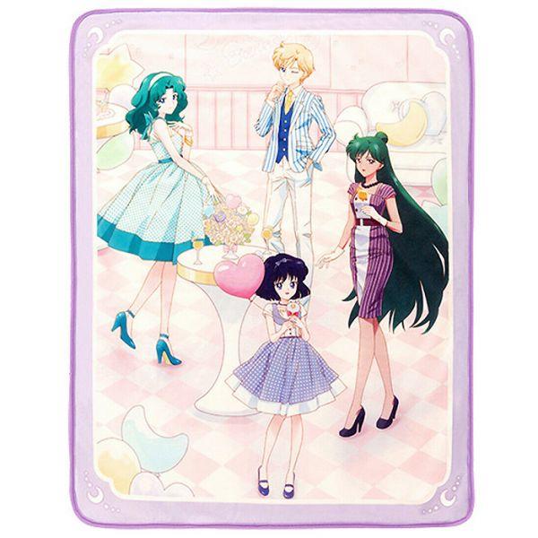 Sailor Moon Eternal Let's Party - Kuscheldecke