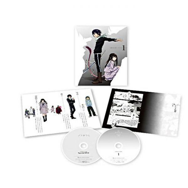 Noragami Vol.1 DVD
