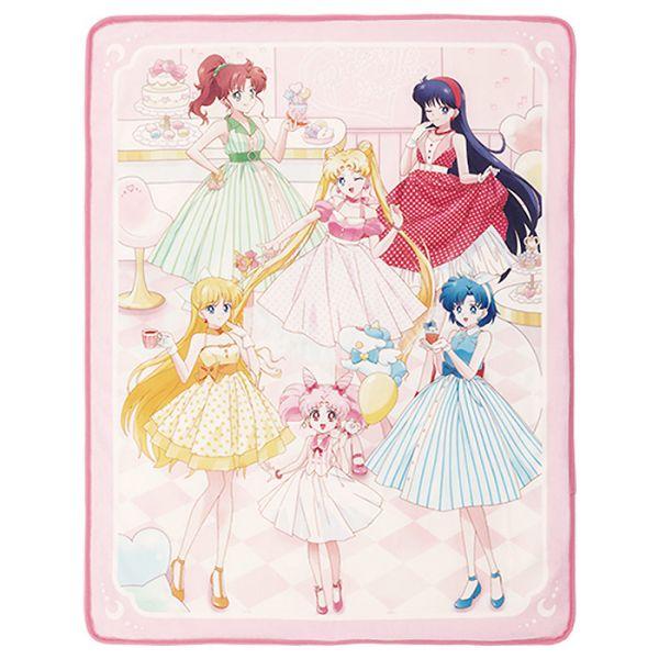 Sailor Moon Eternal: Let's Party Kuscheldecke (Rosa)