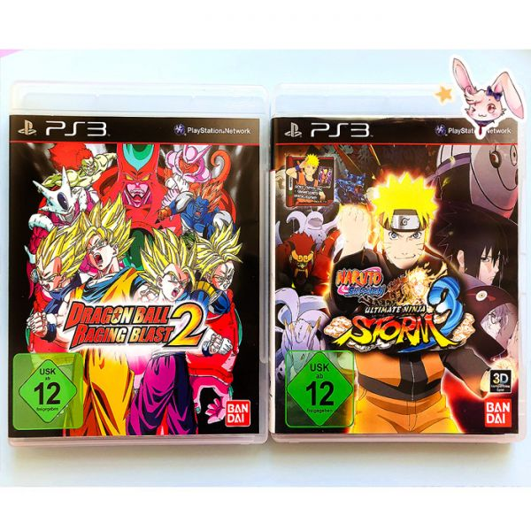 Dragon Ball + Naruto PS3
